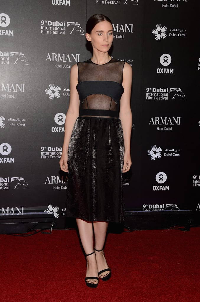Should we attribute Rooney Mara's sexy-meets-gothic fashion sensibility to her stylist, Kate Young?