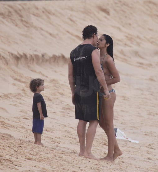 Pictures of Shirtless Matthew McConaughey on Vacation in Brazil With Bikini-Clad Camila Alves