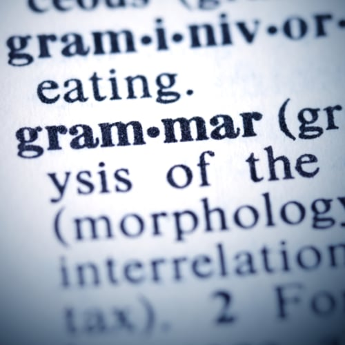 How to Learn Grammar