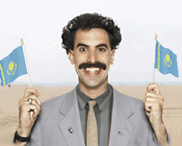 Oscar Worthy Gadgets - iPod Mini in Borat