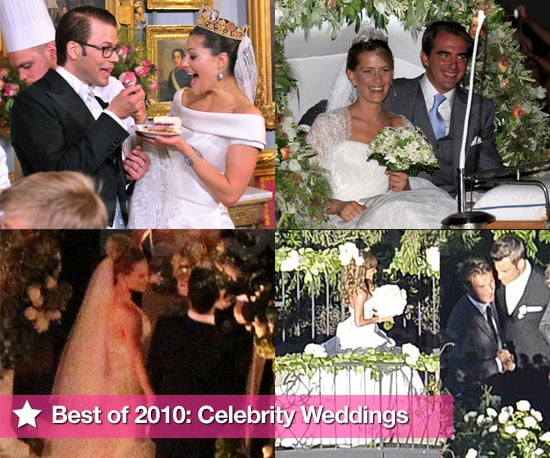 Best of 2010 Pictures of Celebrity Weddings