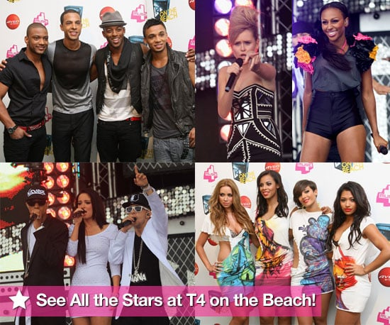 Pictures of T4 on the Beach Featuring The Saturdays, JLS Members, Alexandra Burke, N-Dubz, Diana Vickers, Kelis