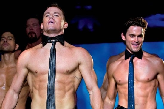Channing Tatum showed off serious muscles in Magic Mike.
