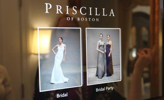 HP TouchSmart Computers in Priscilla of Boston Bridal Salons