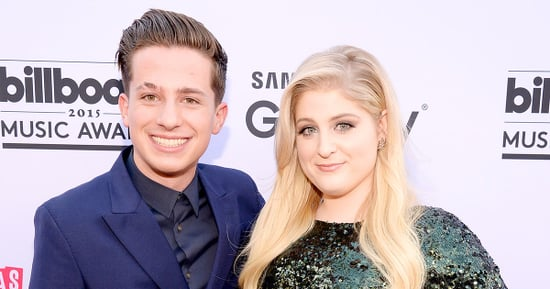 Meghan Trainor Had a 'Drunk Makeout' Session With Charlie Puth Before AMAs Kiss