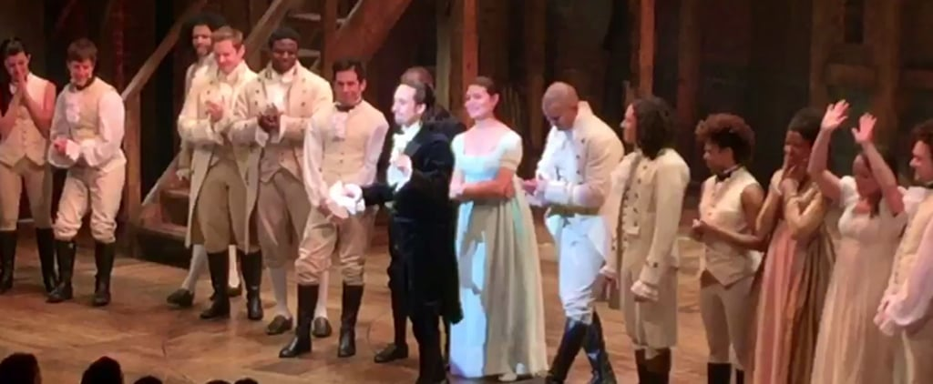 "The Cast of Hamilton Gives Prince the Stirring, ""Crazy"" Tribute He Deserves"