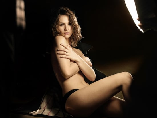 Cinderella Star Lily James Goes Topless for New Burberry Fragrance Campaign