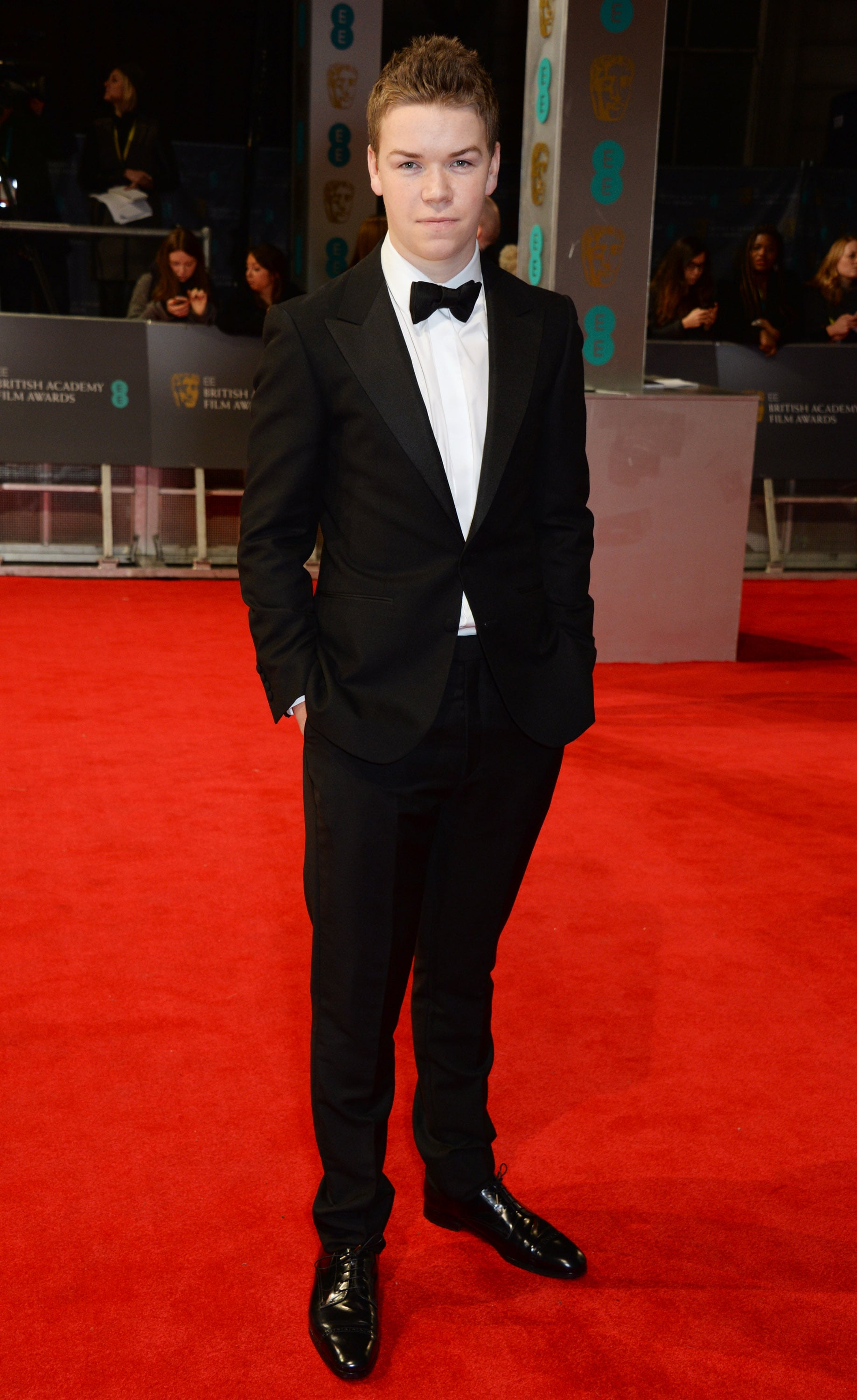 Will Poulter at the 2014 BAFTA Awards.