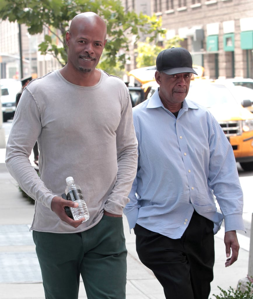 Keenen Ivory Wayans hit the streets of NYC with his dad, Howell.