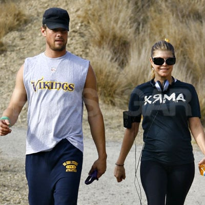 Photo of Fergie and Josh Duhamel in Los Angeles