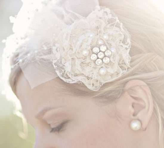 Pinner Sara Shoemaker put up this gorgeous photo of her hair from her own wedding.