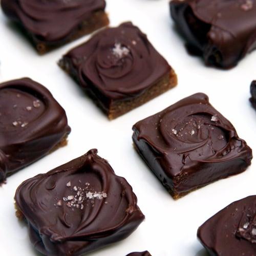 Dark Chocolate Salted Caramels