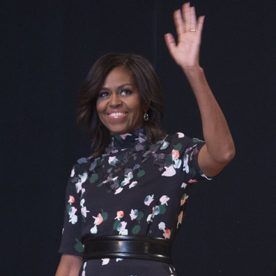 Michelle Obama in Saudi Arabia 2015