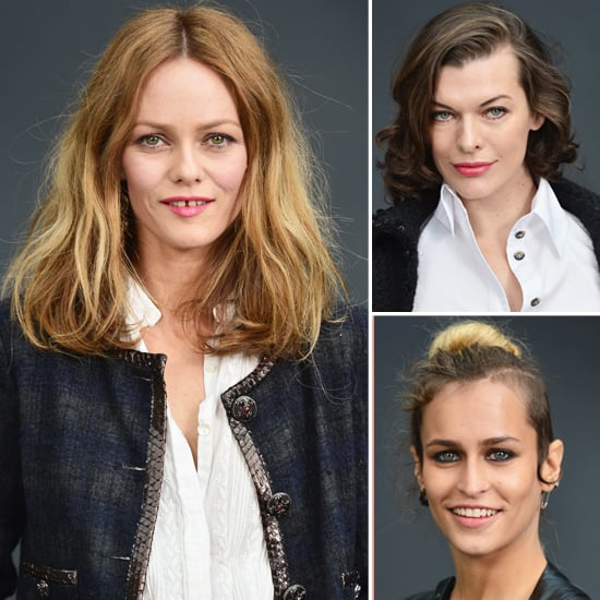 Celebrities at Chanel Paris Fashion Week Pictures