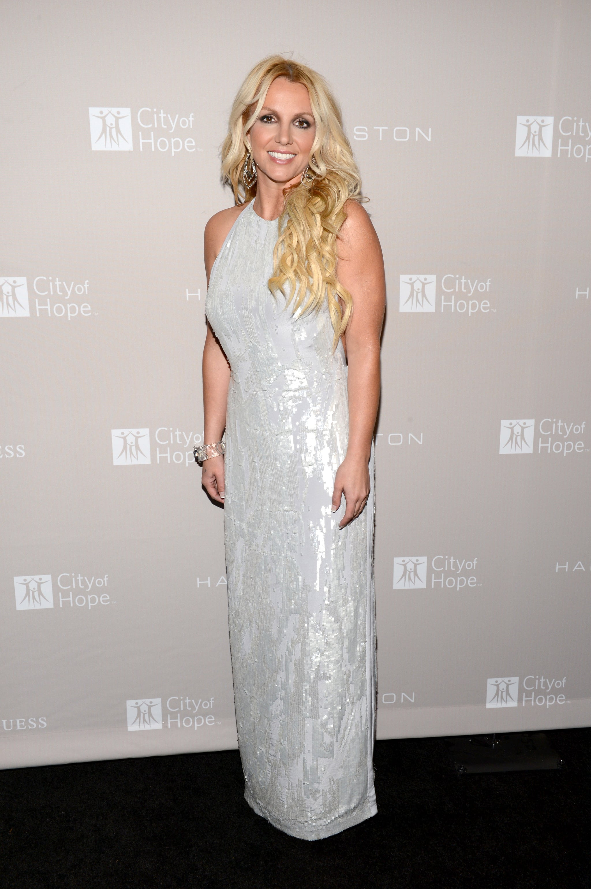 Britney Spears stepped out for the gala in LA.