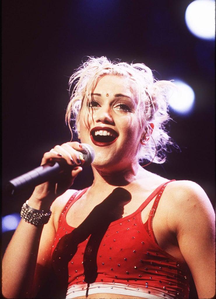 When Gwen Stefani Showed Off Various Hairstyles