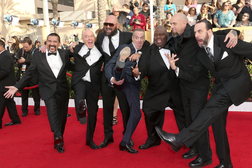 Some of the boys of Breaking Bad let loose.