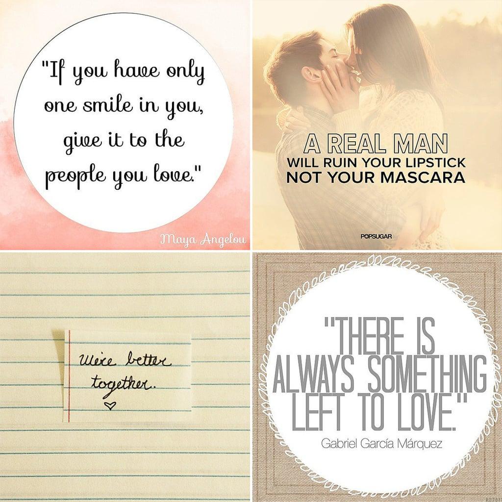 Love Quotes on Instagram  POPSUGAR Love & Sex