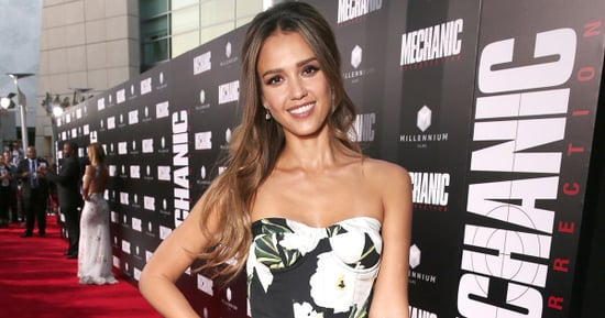 Jessica Alba Proves She's Ready to Say Goodbye to Summer in Dark Florals