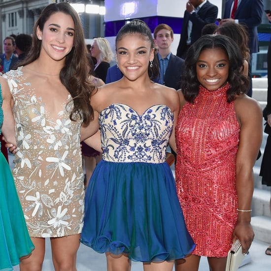 Laurie Hernandez at the MTV VIdeo Music Awards