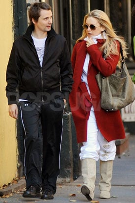 Pictures of Kate Hudson and Matthew Bellamy Strolling in NYC