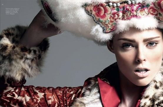 Harper's Bazaar Russia November 2010