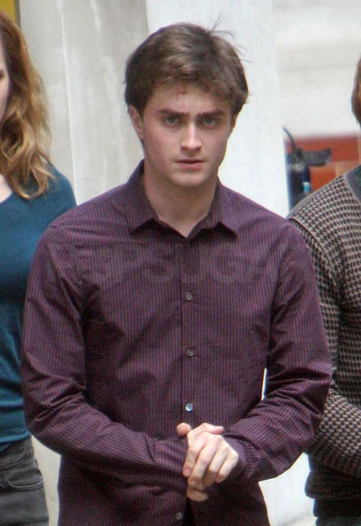 Photos of Harry Potter Cast on Set