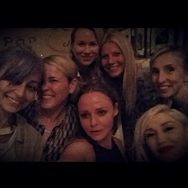 "Gwyneth Paltrow's 2014 ""#girlsnight"" snap with Nicole Richie, Chelsea Handler, Naomi Watts, Gwen Stefani, and Stella McCartney proved the ladies are actually real-life pals."