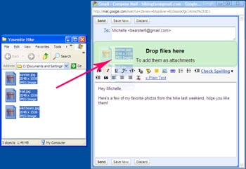 Drag and Drop Attachments In Gmail 2010-04-16 07:30:30