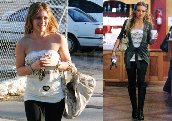 Hilary Duff's Girly Sisterly Saturday