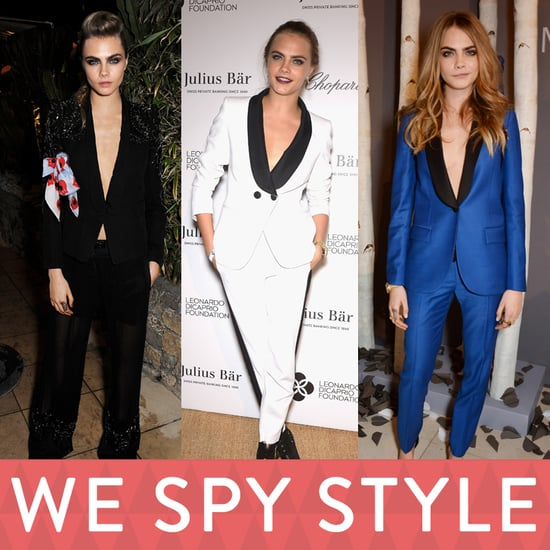 Cara Delevingne's Sexy Shirtless Outfits | Video