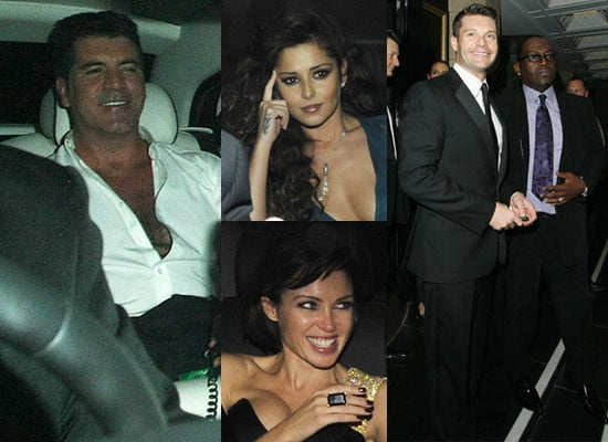 Extensive Photo Gallery of Celebrities at Simon Cowell's 50th Birthday Party Including Kate Moss, Cheryl Cole, Gordon Ramsay