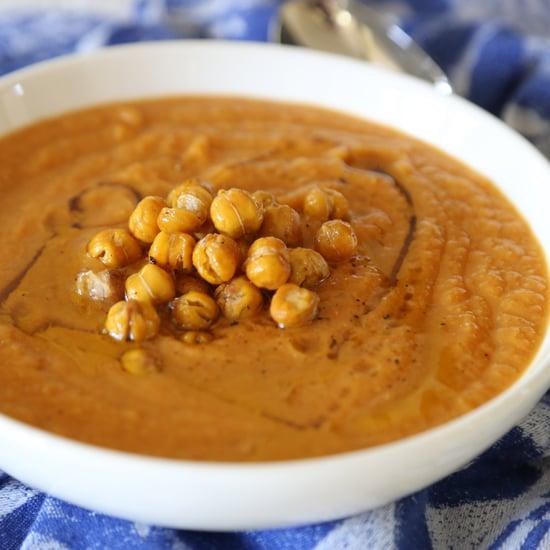 Vegan Pumpkin-Chickpea Soup