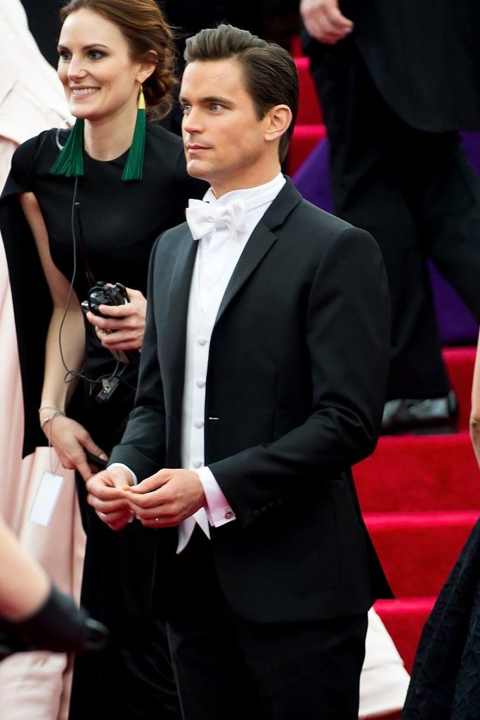 Matt Bomer Looks Like an Actual Ken Doll