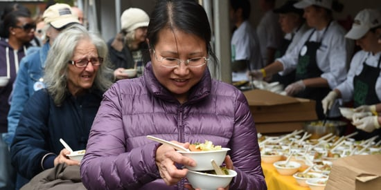 5,000 People Get Free Lunch Made From 'Ugly' Fruits And Vegetables