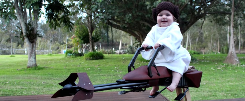 You Have to See What This Geeky Dad Did For His 1-Year-Old Girl