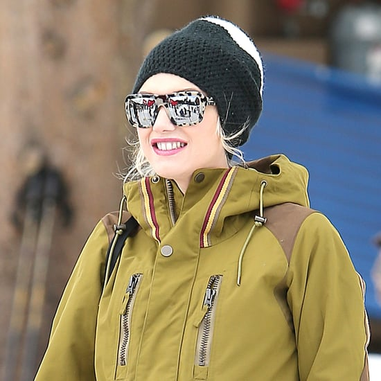 Gwen Stefani and Zuma Rossdale at Skiing Practice | Pictures