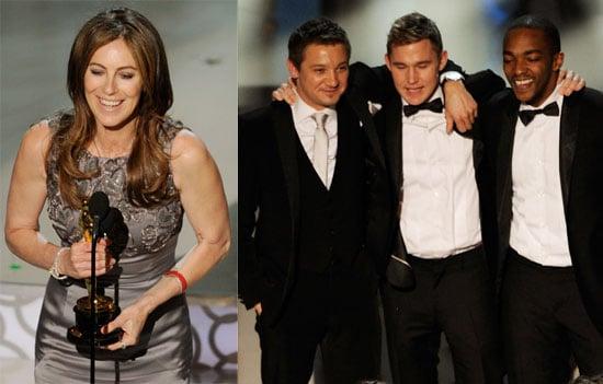 Kathryn Bigelow Talking Best Director, Best Picture Wins at 2010 Oscars 2010-03-07 23:18:31