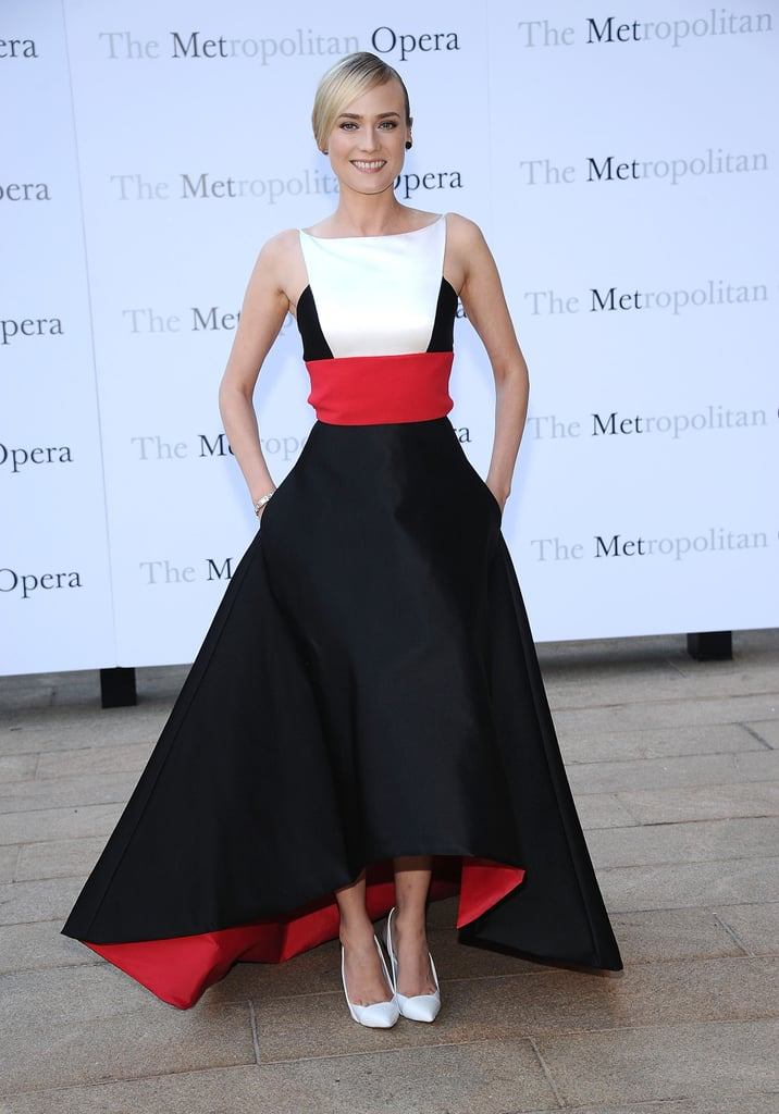 Diane Kruger attended the opening production of Eugene Onegin.