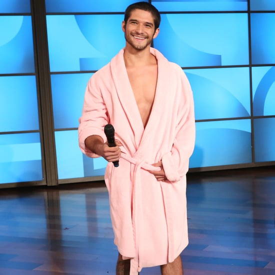 Tyler Posey in His Underwear on The Ellen DeGeneres Show