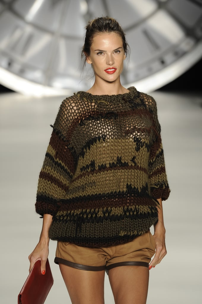 Alessandra Ambrosio participated in Fashion Week.