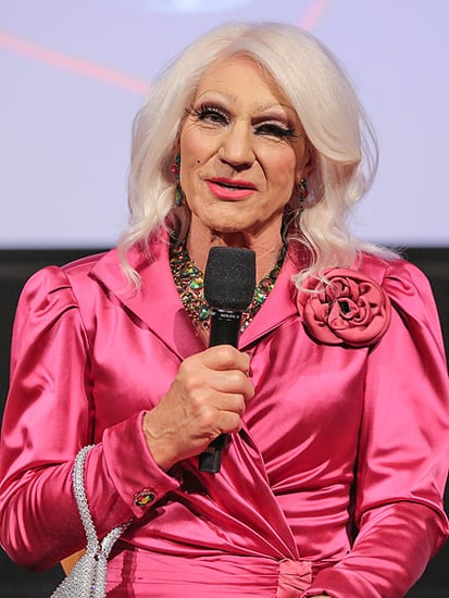 Patrick Stewart Dresses in Drag for Blunt Talk Event in LA - and Twitter Compares Him to Helen Mirren