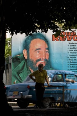 Headline: Fidel Castro Resigns as President of Cuba