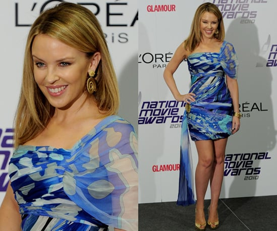 Photos of Kylie Minogue at the 2010 National Movie Awards