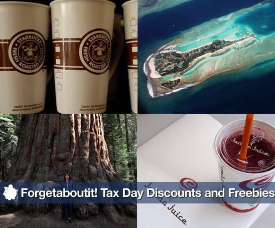Sugar Shout Out: Forgetaboutit! Tax Day Discounts and Freebies!