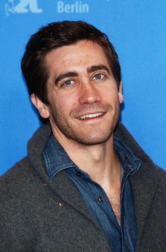 Jake Gyllenhaal posed in Berlin.
