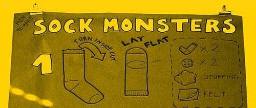 Make a Sock Monster!