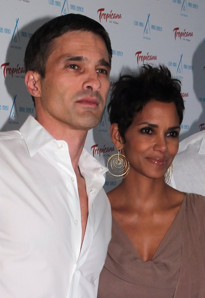 Halle Berry and Olivier Martinez went to Las Vegas for the Nikki Beach Grand Opening White Party in May 2011.