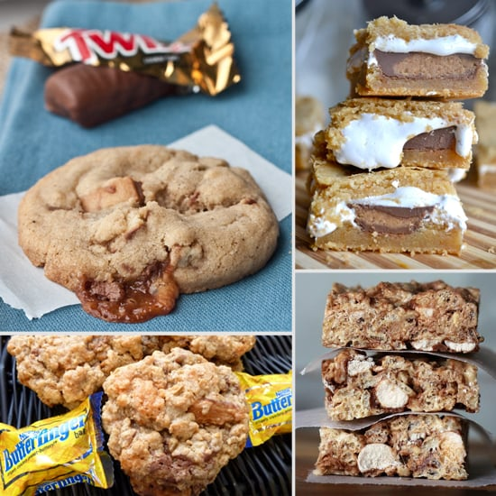 8 Kid-Friendly Cookie and Treats Made With Candy Bars!