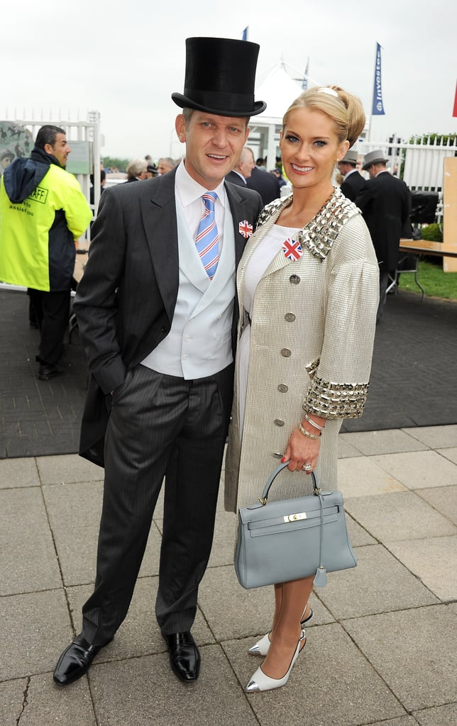 Jeremy Kyle and wife Carla made an attractive pair.